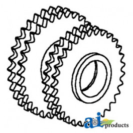 Sprocket, Double Idler, Slat Elevator (LH)