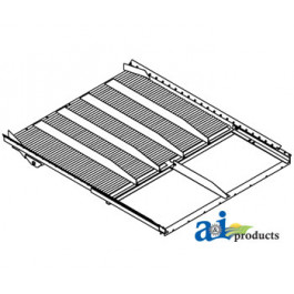 Grain Pan, Front Section (RH)
