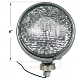 Headlamp, Sealed Beam, 6 Volt
