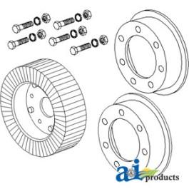 "Wheel, 6"" X 9"" Tail Rim Wheel Assembly"