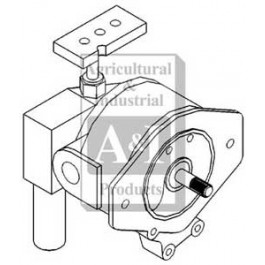 Pump, Main Hydraulic Gear
