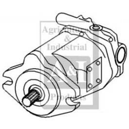 Re-Mfg. Hydraulic Pump (Closed Center)