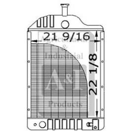 Radiator w/ Oil Cooler - 303348091