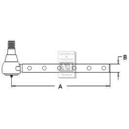 Tie Rod, Outer (RH/LH)