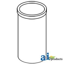 """Liner, Cylinder (.150"""" Flange)"""