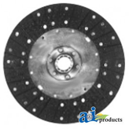"Clutch Disc: 8.5"", organic, solid"