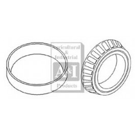 Bearing & Cup, Input, Pinion Rear