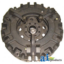 Assembly, Dual Clutch, W/ Captive PTO Disc