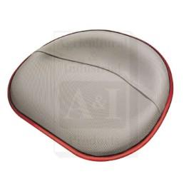 Seat Pan, Steel, SILVER VINYL