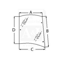 Glass, Rear, Side (RH)