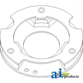 Plate Assembly, Base; Steering Cap