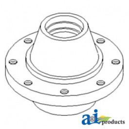 Hub, Adjustable Axle