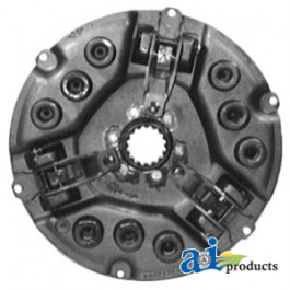 "Pressure Plate: 12"", 3 lever, adjust on bearing end, (1.406"" flywheel step)"