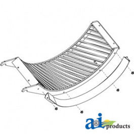 Concave, Front (Small Grain, Helical Bar)