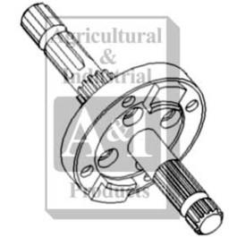 Shaft, PTO 540/1000 RPM