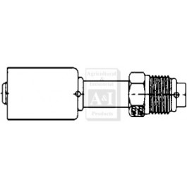 Straight Male O-Ring Steel Bedlock Fittings
