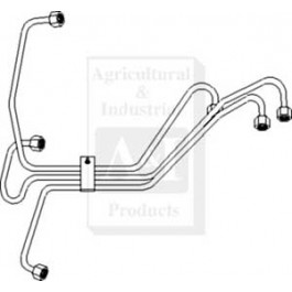 Injection Line Set, #3 Cylinder