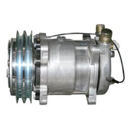 Compressor, New, Sanden Style w/ Clutch (8387)