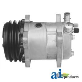 Compressor, New, Sanden Style w/ Clutch (9285)