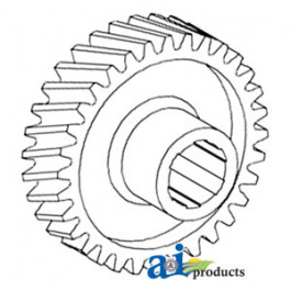 Sector, Steering Worm Gear