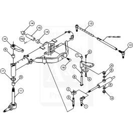 Overhaul Kit, Basic Front Axle