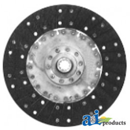 "PTO Disc: 12"", organic, solid, RE-MFG"