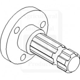 Shaft, PTO , 540 RPM