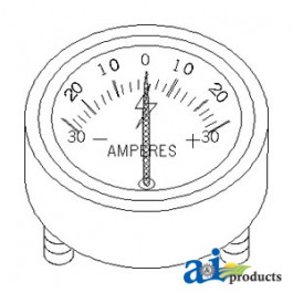 Ammeter Assembly (30-0-30)