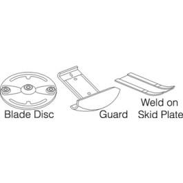 Plate, Skid