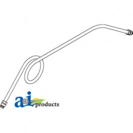 Fuel Line, Tank To Strainer