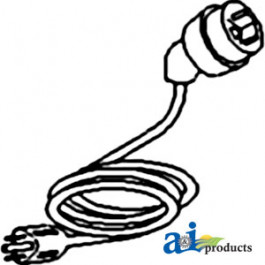 Cord, Replacement for 400 Watt (3 Terminal)
