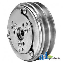 "Clutch - Sanden Style ( 2 groove 5.22"" pulley)"