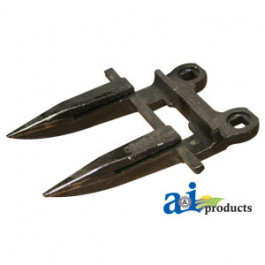 Forged Guard, 2 Prong, Dbl Heat Treated