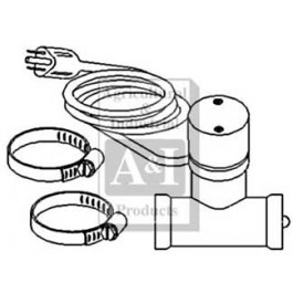 "Heater, Lower Radiator Hose (1 1/2"")"