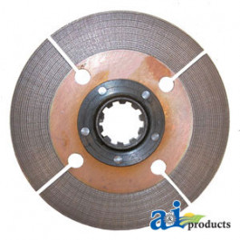 Drive Disc Assembly: front & rear