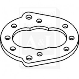 "Gear Plate, Hydraulic Pump (1/2"" thick)"