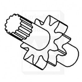 Drive ID Shaft, Hydraulic Pump