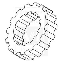 Splined Collar, Transmission Mainshaft