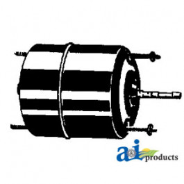 "Blower Motor - Heater  (12V, 5/16"" X 1 1/4"" shaft, Rev rotation)"