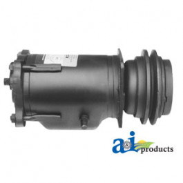 """Compressor, Re-mfg, A6 w/ Clutch (1 groove 5.58"""" pulley, 12V, 2:00 coil)"""