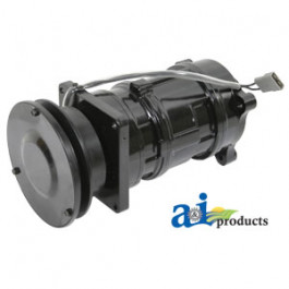 "Compressor, New, A6 w/ Clutch (1 groove 5.58"" pulley, 12V, 2:00 coil)"