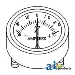 Gauge, Ammeter (30-0-30)