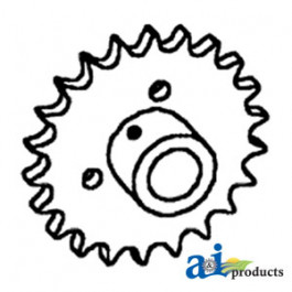 Sprocket, Clean Grain or Tailings Auger Drive