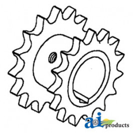 Sprocket, Feeder Beater & Raddle RH Drive
