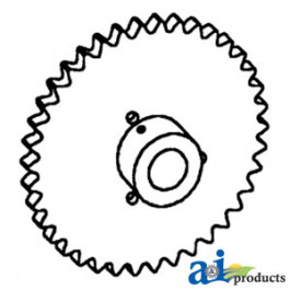 Sprocket, Clean Grain Auger Drive
