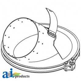 Auger, Unloading, Collar Assembly