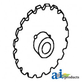 Sprocket, Separator Rattle Drive w/ Bushings