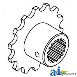 Coupler Sprocket, Drive