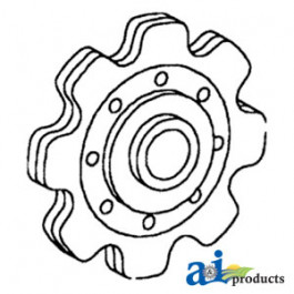 Sprocket, Lower Gathering Idler