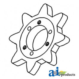 clean/ Return Grain Elevator Sprocket
